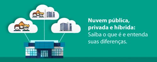 Nuvem pública, privada e híbrida: Saiba o que é e entenda suas diferenças.