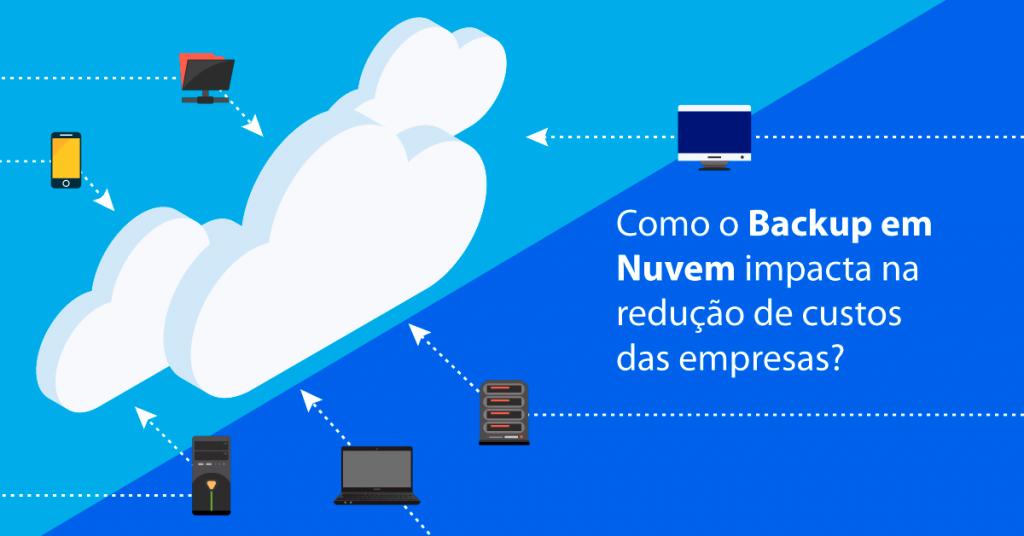 Como o Backup em Nuvem impacta na redução de custos das empresas?