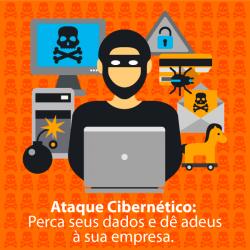 Ataques Cibernéticos: Perca seus dados e dê adeus a sua empresa