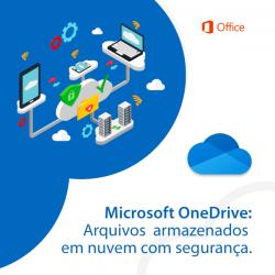 Microsoft OneDrive: Arquivos armazenados em nuvem com segurança