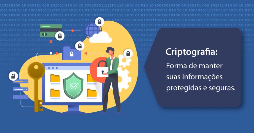 Criptografia: Forma de manter suas informações protegidas e seguras